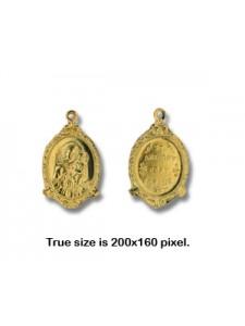 Religious Medallion  St.Anthony  Gold Pl