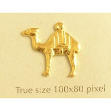 Camel Charm Gold Plated