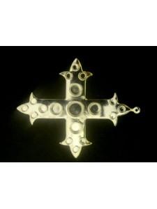 Byzantine Crucific 64x58mm w/ring
