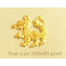 Dragon Charm Gold Plated