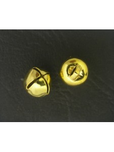 Bell (Iron) 8mm Gold plated