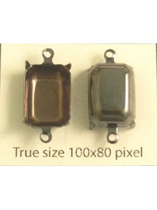 Setting for 4610 14x10mm CB 2-Ring Antiq