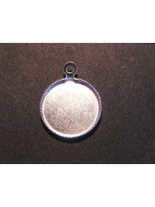 Mill Grain Setting 12mm round w/ring