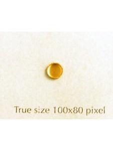 Setting for 2090/4+4869 4mm Milligrain R