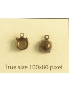 Setting for 1028 SS30 1-Ring Antiqued