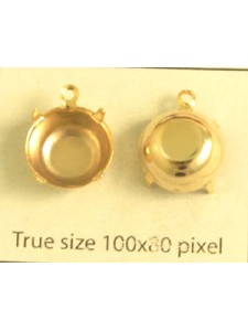 Setting for 1028 SS48 1-Ring Gold Plated