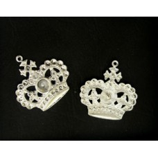 Crown w/ring (SS24 PP17...)  Silver plat