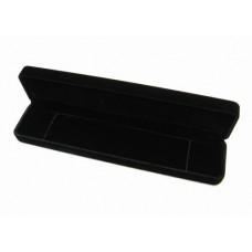 Velour Necklace Box 24x5x3cm Black