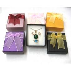 Jewellery cardboard box 7x8x3.2cm - Mix