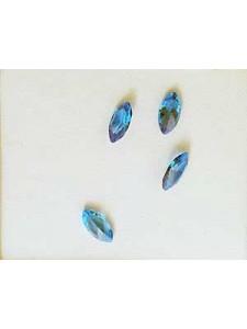 CZ AAA Marquise 6x3mm Blue Topaz  4pcs