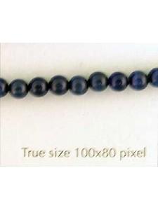 Cats Eye Bead Round 4mm Dark Blue