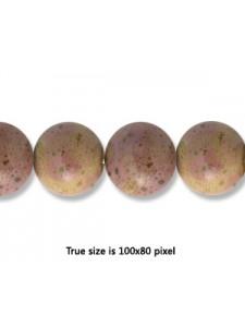 Ceramic Bead 10mm Antique Purple
