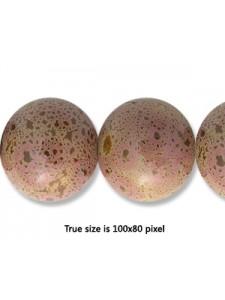 Ceramic Bead 14mm Antique Purple