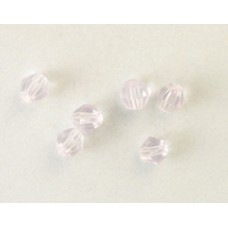 Chinese Bi-cone Bead 4mm Light Violet
