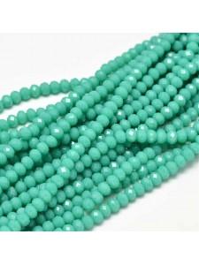 Abacus 4x3mm Medium Turquoise 149 beads