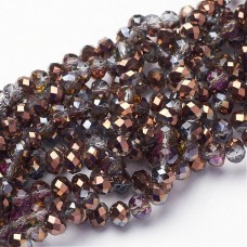 Abacus 6x4mm ~100 beads Gainsboro PL