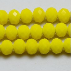 Abacus Beads 8x6mm FC Yellow ~15.7in