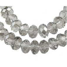 Abacus Faceted Gray 14mm 48pcs/st