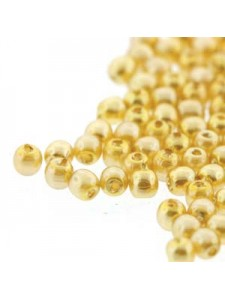 Glass Pearl 2mm Round Sunglow 150 beads