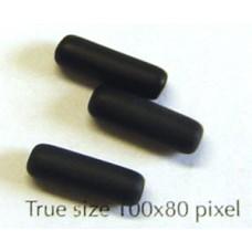 CZ Tube 14x4mm Black Matt