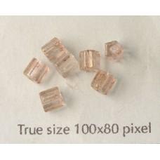 CZ Tube 3x5mm Lumi Pink