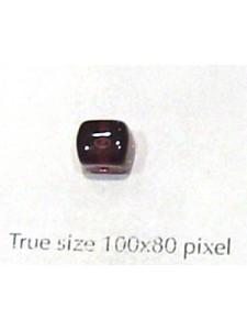 CZ Cube 5x7mm Dark Amethyst