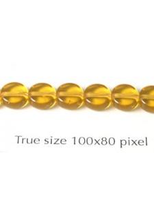 M&M 6mm Bead Amber
