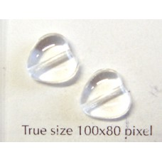 CZ Heart 10mm Clear