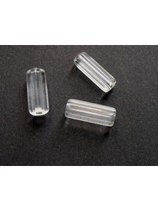 CZ Tube 10x4mm Clear