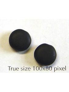 CZ Disc Round Edge 10mm Black Matt