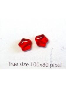 CZ Star 6mm Ruby