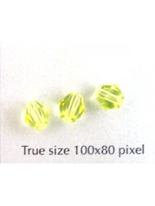 CZ Faceted Diamond 6mm Jonquil