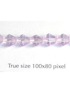 CZ Faceted  Diamond  6mm Alexandrite