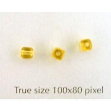 CZ Cube 4mm Topaz