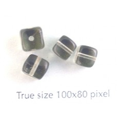 CZ Cube 5x7mm Black Diamond