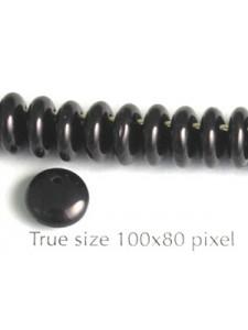 CZ Drop Disc 8mm Black