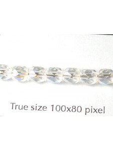 CZ Round Faceted 5mm Clear AB
