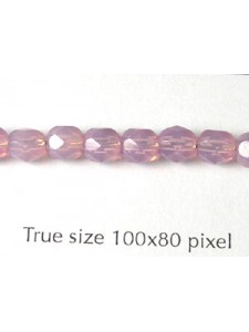 CZ Round Faceted 5mm Opal Lilac- Limited