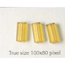 CZ Tube 10x6mm Topaz - NO Reorder