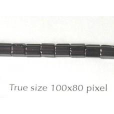 CZ Satina 4x4mm Black