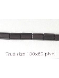 CZ Satina 6x4mm Black Matt