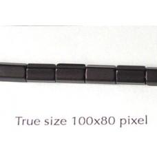CZ Satina 6x4mm Topaz