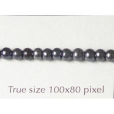 Filler Bead 3-4mm Hematite