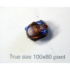 Indian Amber Bead 10mm Chocolate