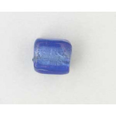 Indian Cube 10mm Silver Foiled Sapphire