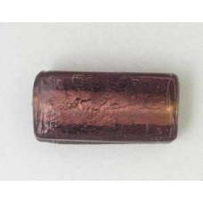 Indian 25x12x7mm Rect Silver Foil Lt.Am