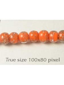 Bead Style044 Round 6mm Orange
