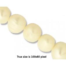 Pearl 10mm  Potato White (0.8 mmH) 15in