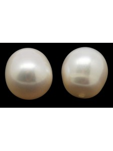Pearl Rice 7-8mm White Half Drilled