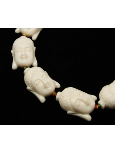 Buddha Bead Synthetic 23x12mm H:1mm